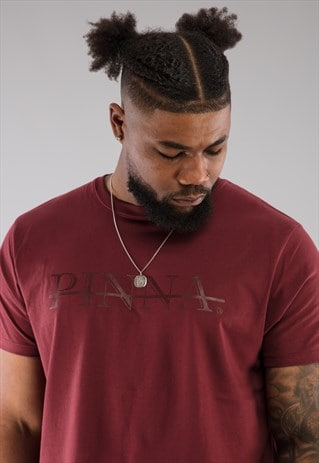 PINNA Essential Tshirt - Burgundy