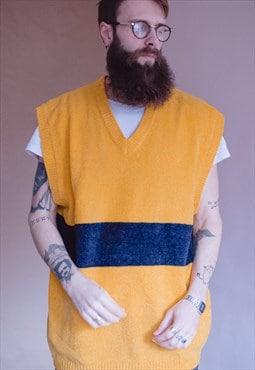Vintage 90s zip hop vest