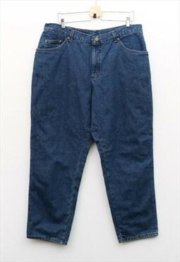 L L Bean Vintage Relaxed Fit Men's W37 L30 Jeans Denim Pants