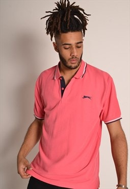 Vintage Slazenger Polo Shirt in Pink
