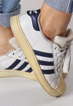 Adidas Shell Toe Superstar trainers UK 4.5 (GBBA)