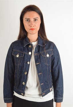 Vintage Guess Denim Jacket Made in Italy (1343)