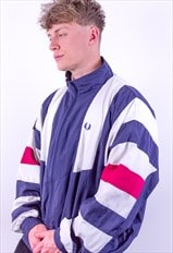 Vintage Fred Perry Striped Jacket