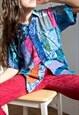 UNiSEX Multicoloured Gringo Festival Patchwork Shirt