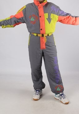 "Vintage Full Ski Suit Snow M 40 - 42"" (9DX)"