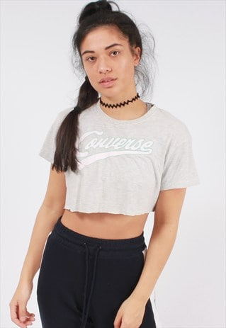 VINTAGE CONVERSE CROPPED T SHIRT