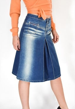 TOMMY HILFIGER Vintage Long Jeans Skirt