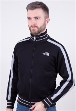 Vintage Black Track Top Sweatshirt The North Face