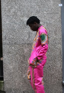 African Matching Shirt and Trousers - Festival Clothing