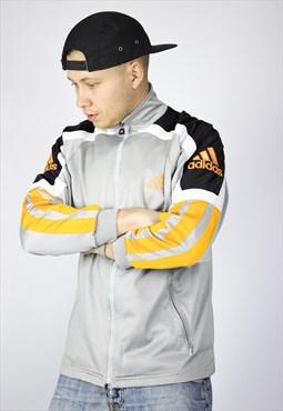 Vintage Mens ADIDAS Perfomance Track Top Suit Jacket