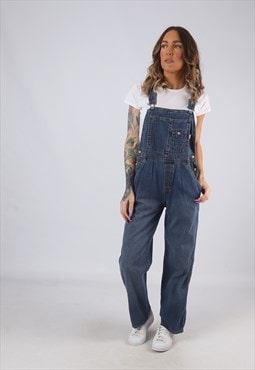 Denim Dungarees OLD NAVY Wide Straight Leg UK 10 (HK3D)