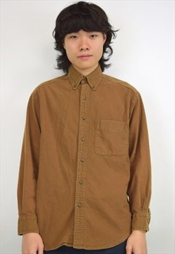 VIntage 90s GAP Brown Shirt