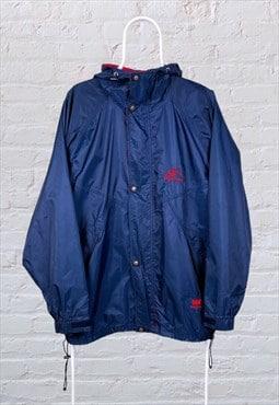 Vintage Helly Hansen Jacket Blue Large