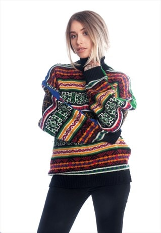 THE FESTIVAL STRIPPED JUMPER COLLECTION RASTA