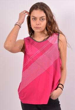 Vintage Fila Vest Top Pink