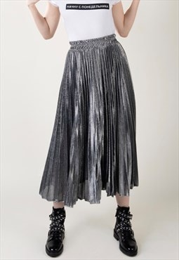 """Gia"" - Pleated Skirt"