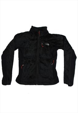 North Face Black Zip-Up Fleece
