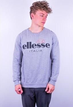 Vintage Ellesse Sweatshirt in Grey