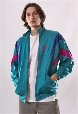 90's Vintage Mens NIKE Track Top Suit Jacket