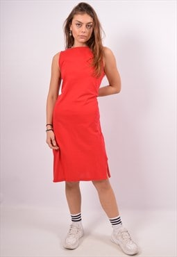 Vintage Sergio Tacchini A-Line Dress Red