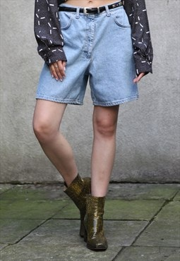 Vintage 90's DEnim Shorts in Blue