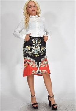 Vintage ROBERTO CAVALLI Multicolored Skirt
