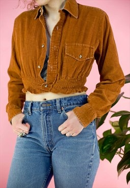 Vintage Handmade Rework Corduroy Shirt