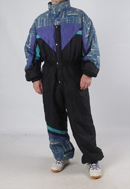 "Vintage SPEED LINE Full Ski Suit Snow XL 44- 46"" (92L)"