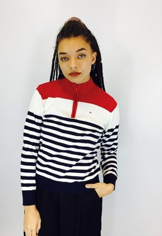 TOMMY HILFIGER 90S COTTON KNIT JUMPER