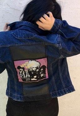 Hanoi Rocks Reworked Denim Jacket