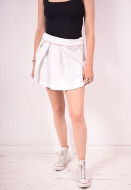 Lacoste Womens Vintage Skirt W32 White 90s