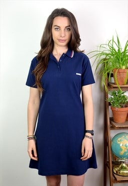 90s Vintage Donnay Navy Sports Dress