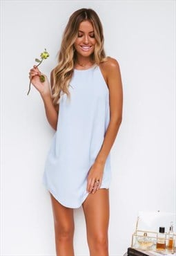 Baby Blue Shift Dress