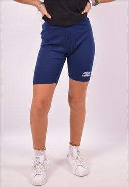 Vintage Umbro Shorts Navy Blue