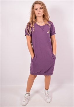 Vintage Puma Sweatshirt Dress Purple