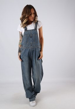 Denim Dungarees UNION BAY Wide Straight Leg UK 12 (BJCB)