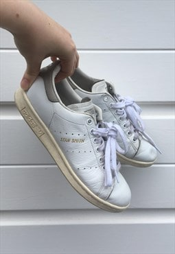 Unisex mens womens Adidas Stan Smith trainers white shoes