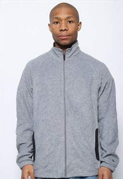 Vintage Starter Full Zip Fleece Grey