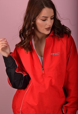 Red Reebok Pullover Jacket GTJ3520
