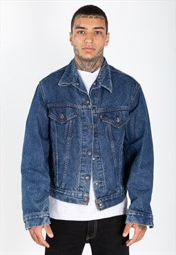 NO STOCK 80s Original Levi's Denim Trucker Jacket / 7502