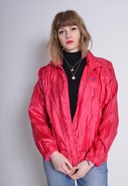 Vintage Adidas Shell Jacket Pinkl