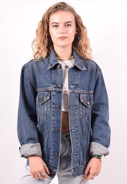 Levi's Womens Vintage Denim Jacket Medium Blue 90s