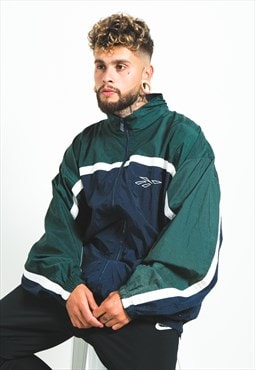 Vintage 90s Reebok Windbreaker Jacket / 4070