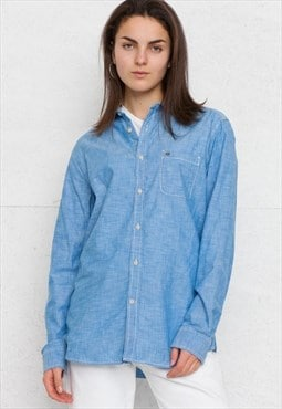 Vintage Blue DIESEL Long Sleeve Shirt