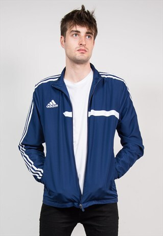 90'S NAVY ADIDAS TRACKSUIT JACKET TOP