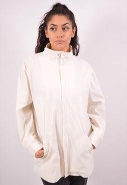 Vintage Dkny Overjacket White