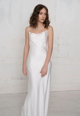 Florian elegant wedding bridesmaid dress