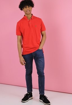 Red Ralph Lauren  Vintage Polo T shirt