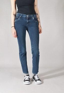 Vintage Levi's Skinny Jeans Dark Blue