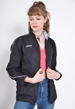 Vintage Reebok Shell Jacket Black